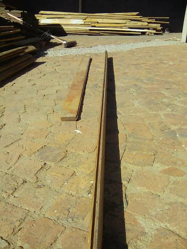 83mm wide reclaimed Oregon pine flooring planks for sale