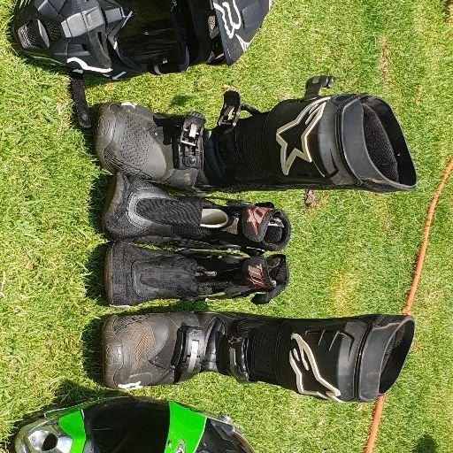 Offroad equipment set