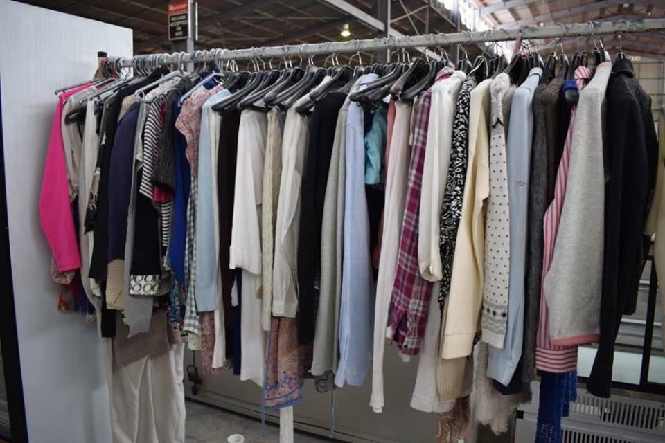 Various ladies jackets and shirts