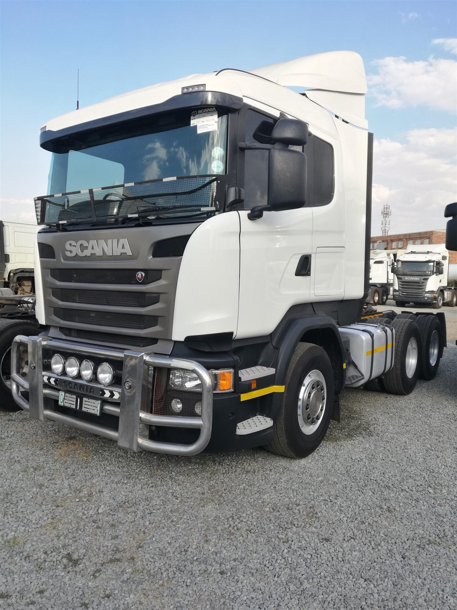 2017 SCANIA R460 DOUBLE DIFF HORSE FOR SALE IN MINT CONDITION.