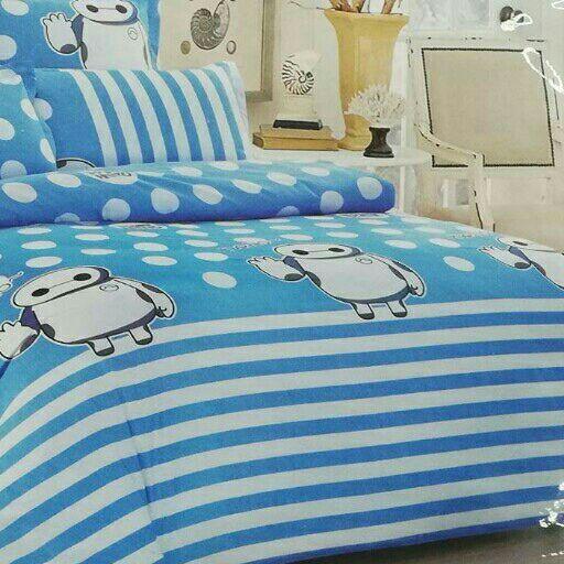 Big Hero 6 Piece Double Bed Set