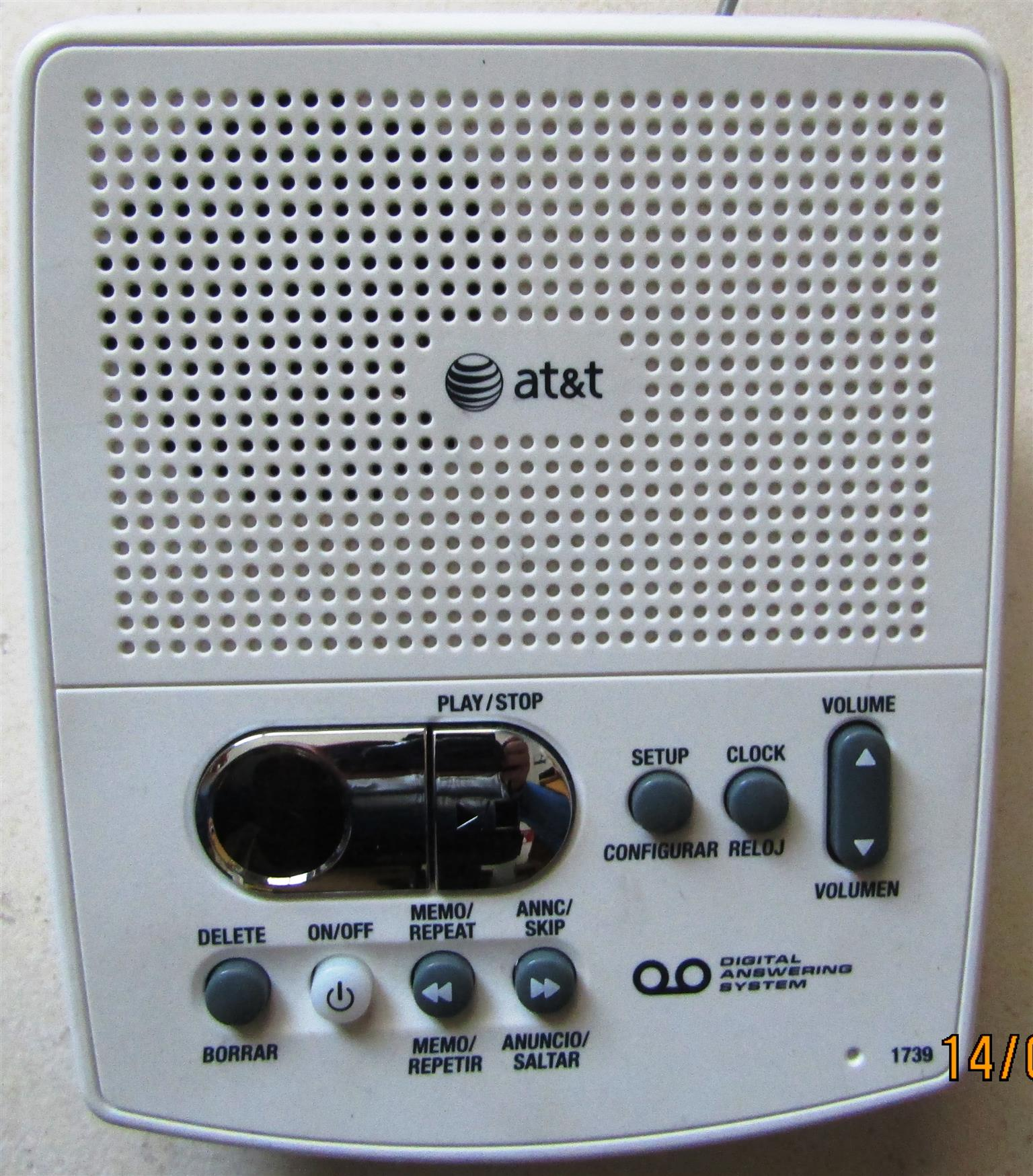 AT&T Digital Telephone Answering System
