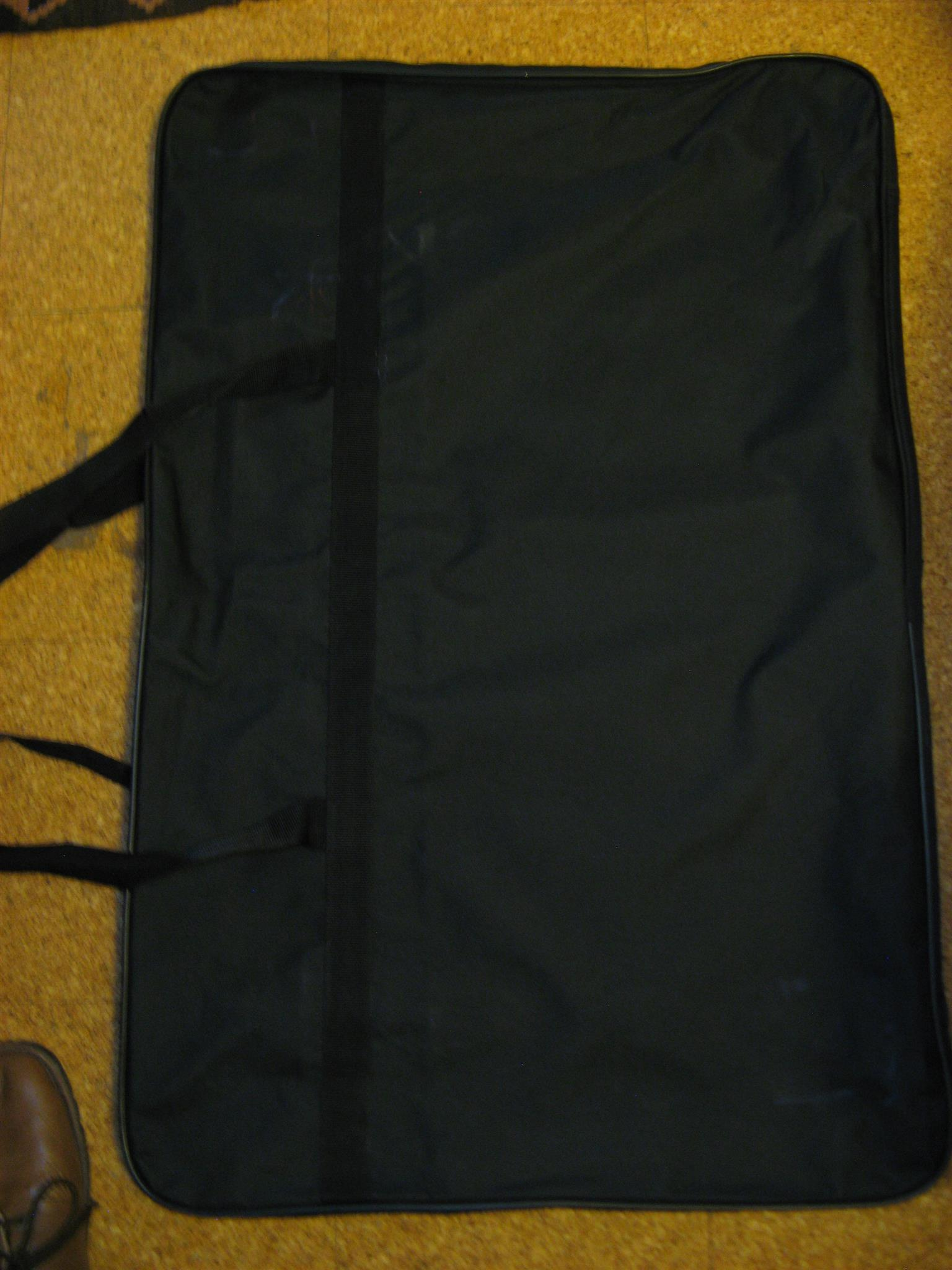 Sturdy protective project canvas zipper bags