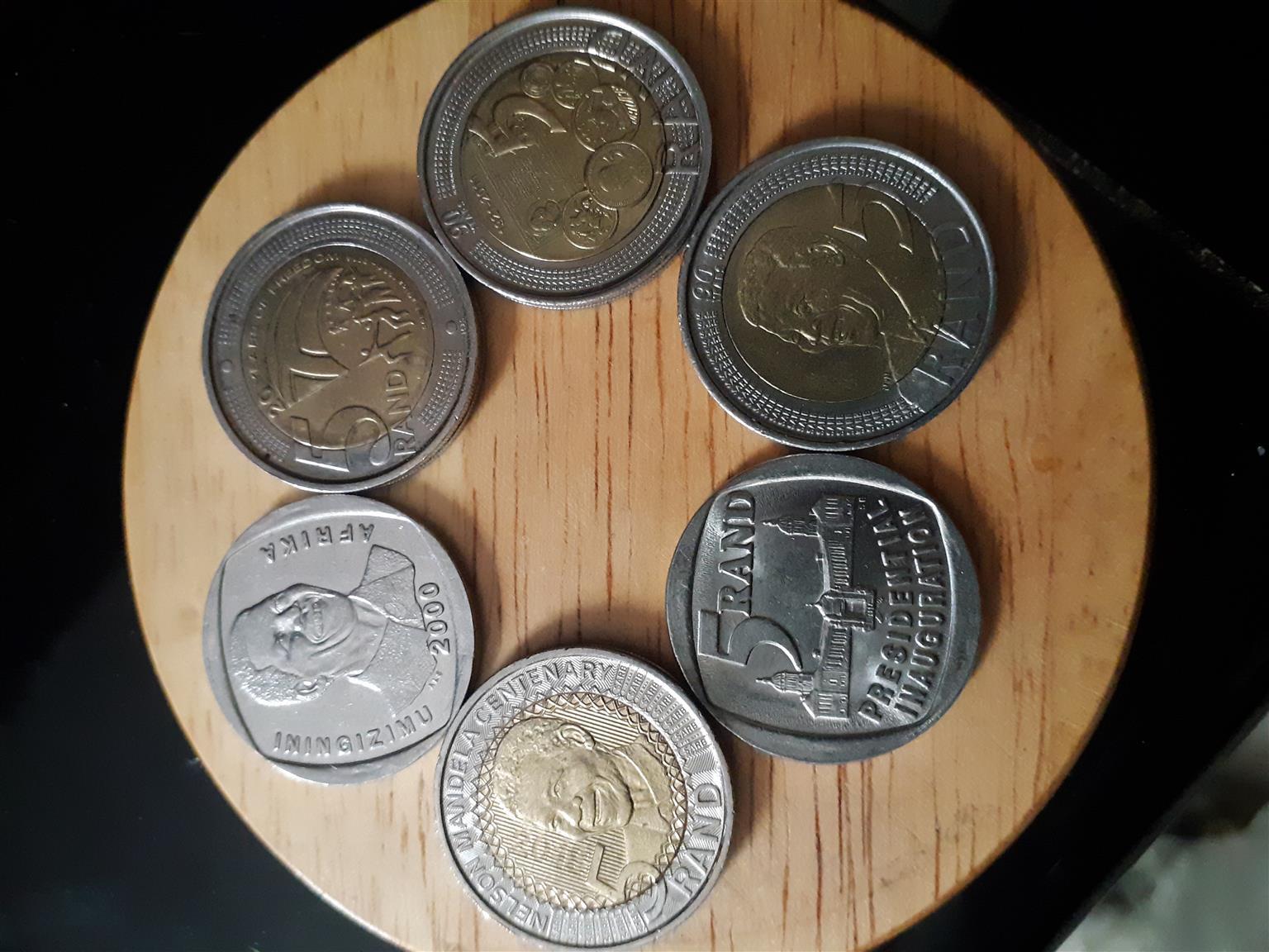 Image result for mandela coins