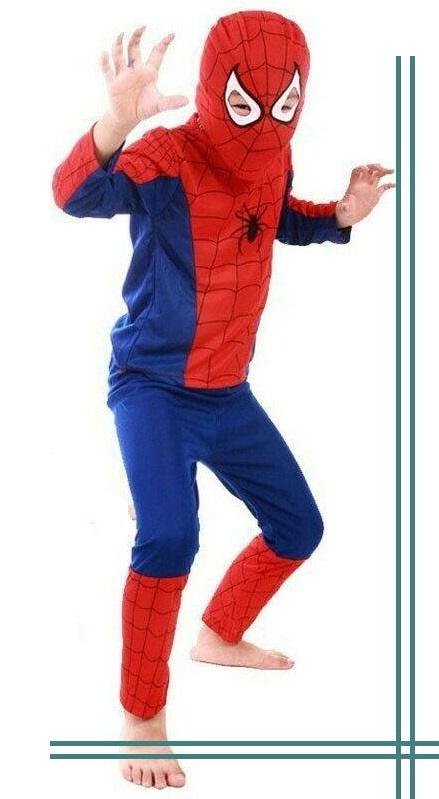 Spider Man Fancy Dress Costumes For Kids