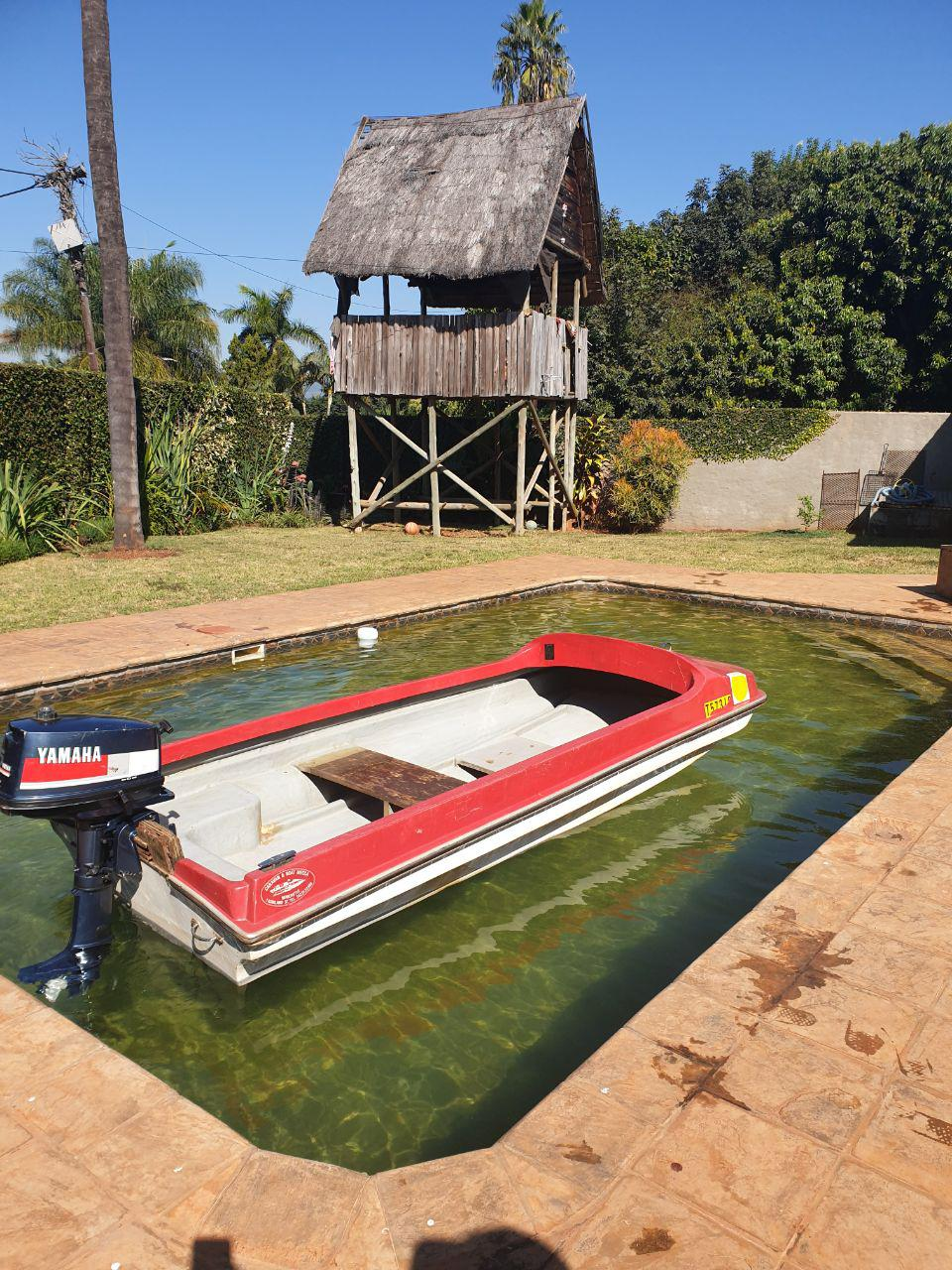 Boat with motor for sale