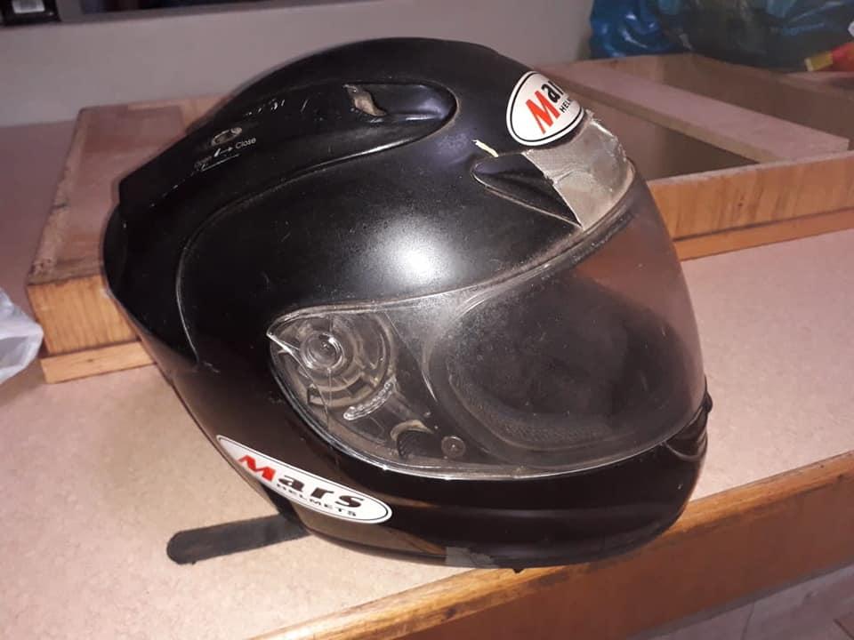 Black Mars helmet for sale