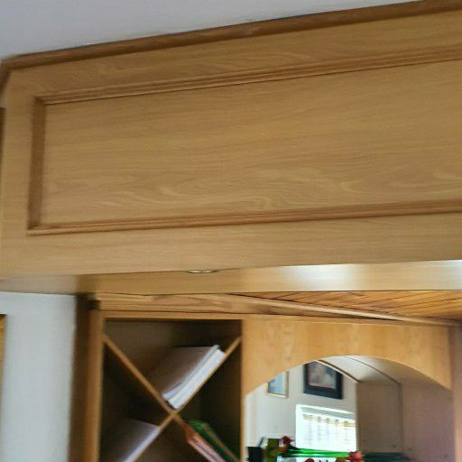 solid oak bar for sale
