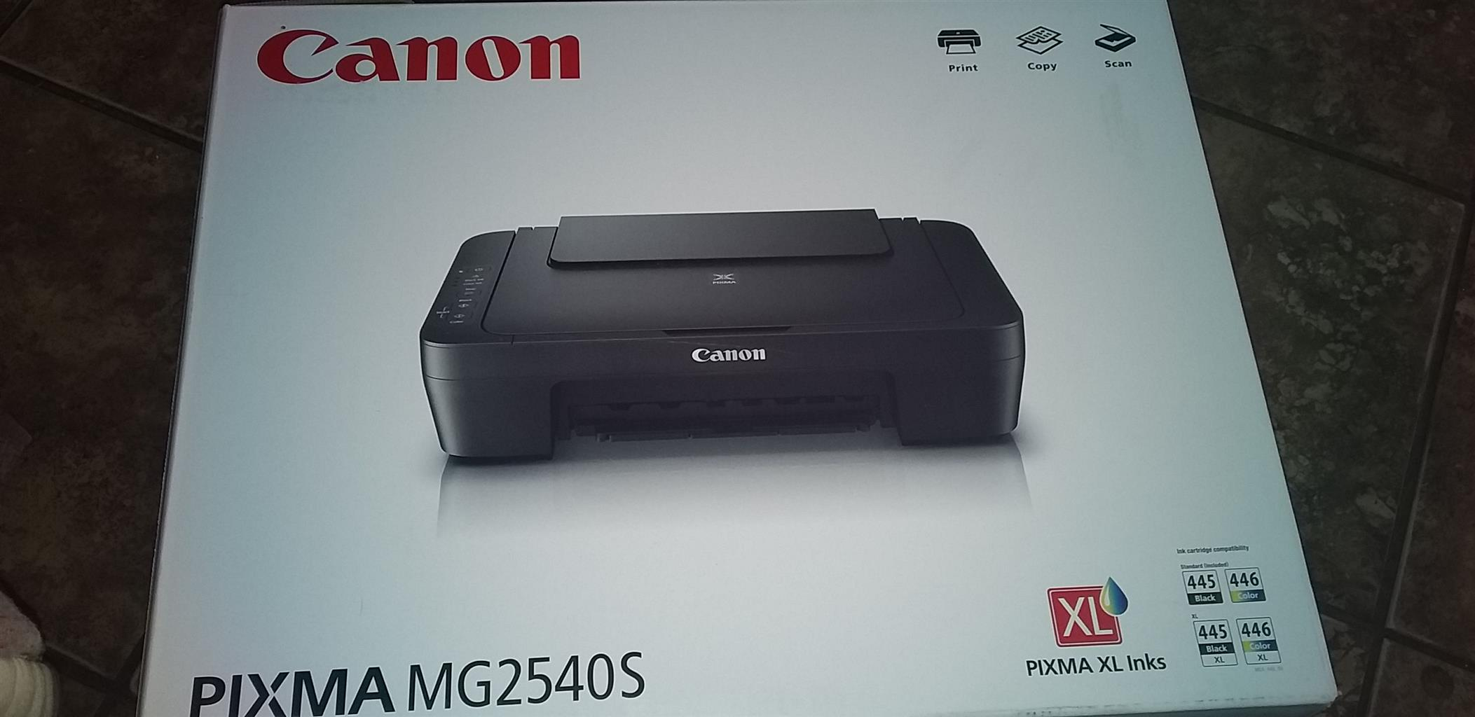 Dixon Notebook and Canon Printer combo