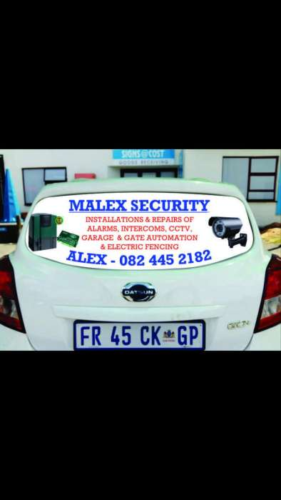 Security equipment installations and repairs