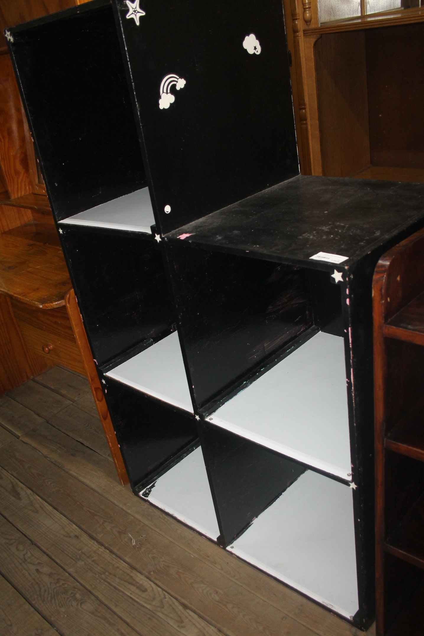 Black bookshelf S044901A #Rosettenvillepawnshop