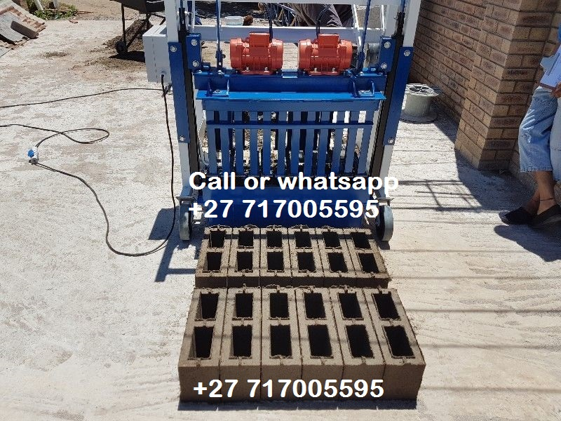 Brick and Block Making Machines and Pan Mixers For SALE