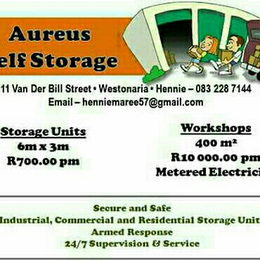 Self Storages westonaria
