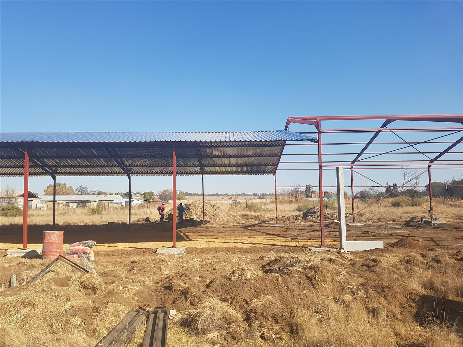 Steel Structures and welding works