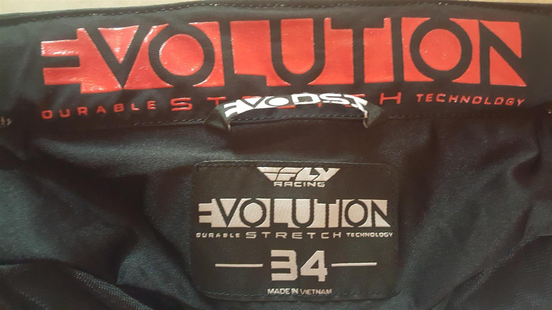 Fly Racing Evolution mens off road motorcycle trousers
