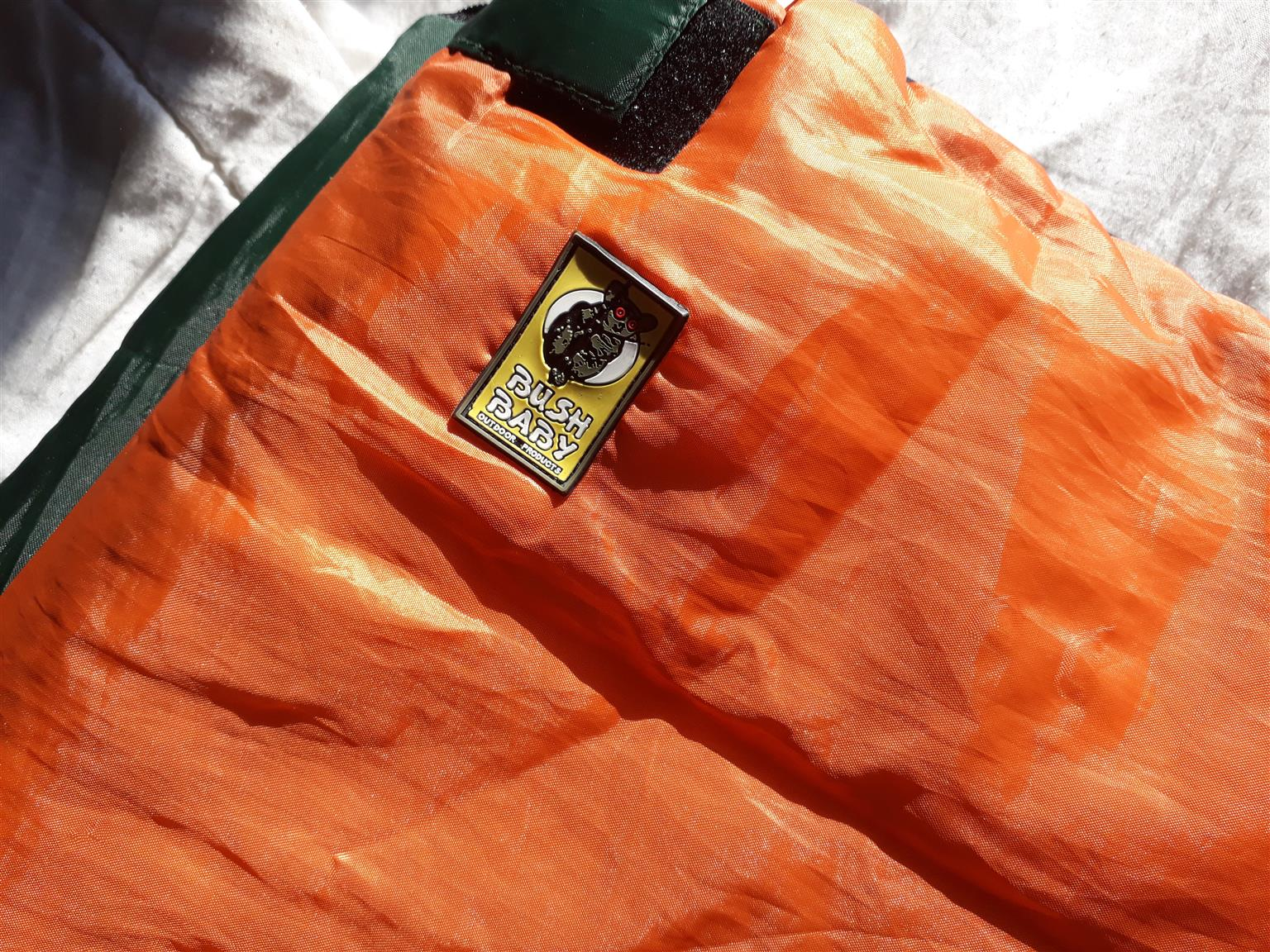 save off 874dd b51cb BUSH BABY sleeping bag 1.8 m x 0.68 m in very good and clean condition.    Junk Mail