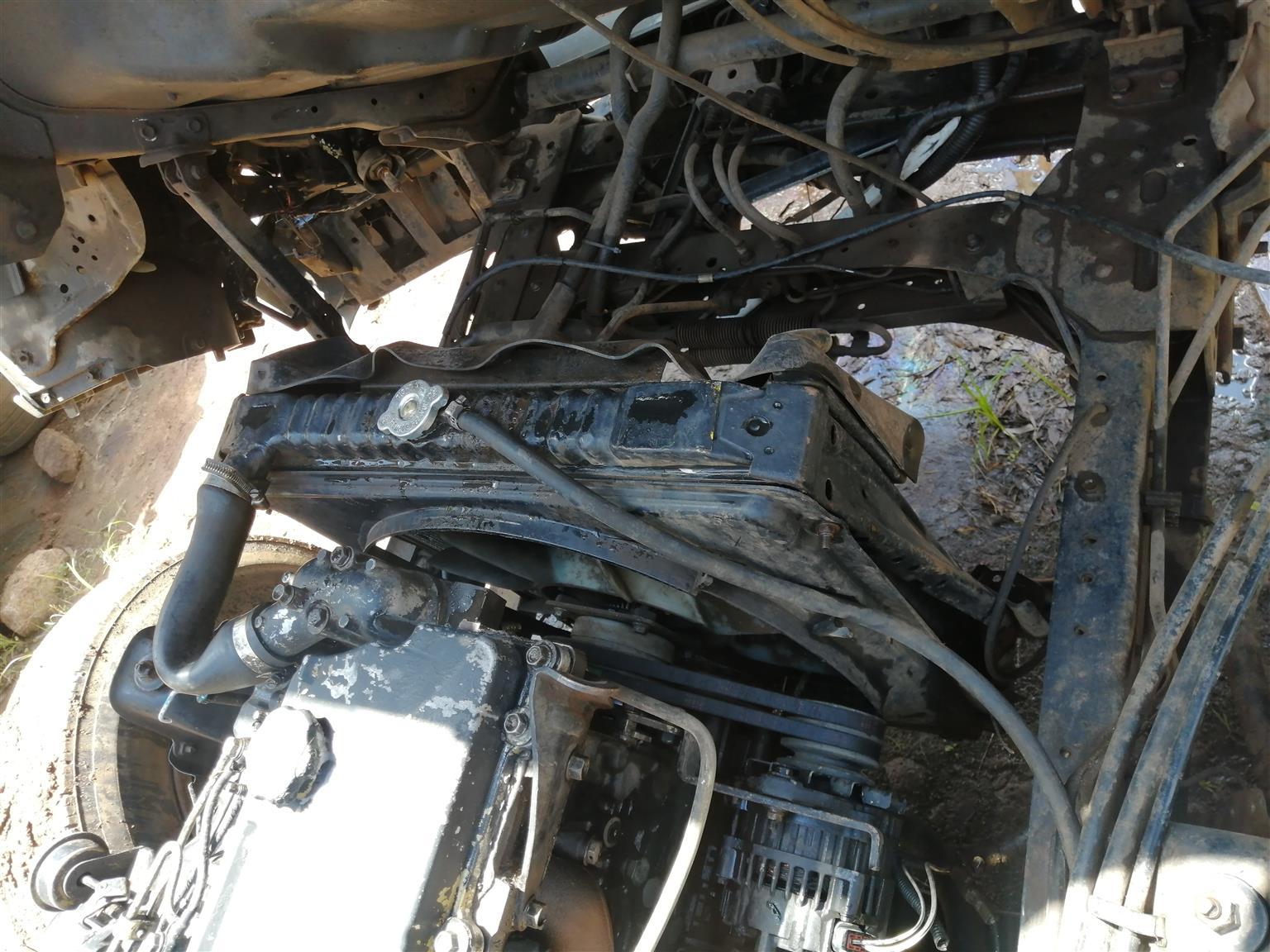 Selling isuzu npr 500 turbo engine 4he1