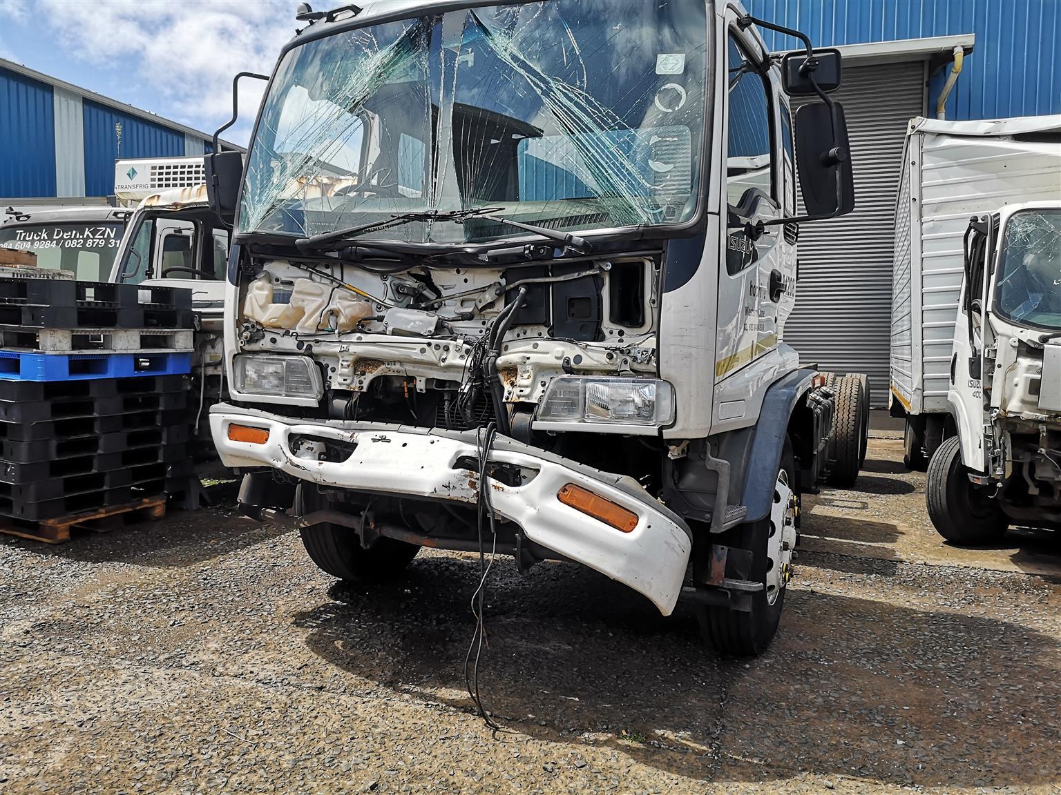 ISUZU FTM 1200 Freighter sitec - 6HE1 Turbo - Trailing Axle Air bag Suspension