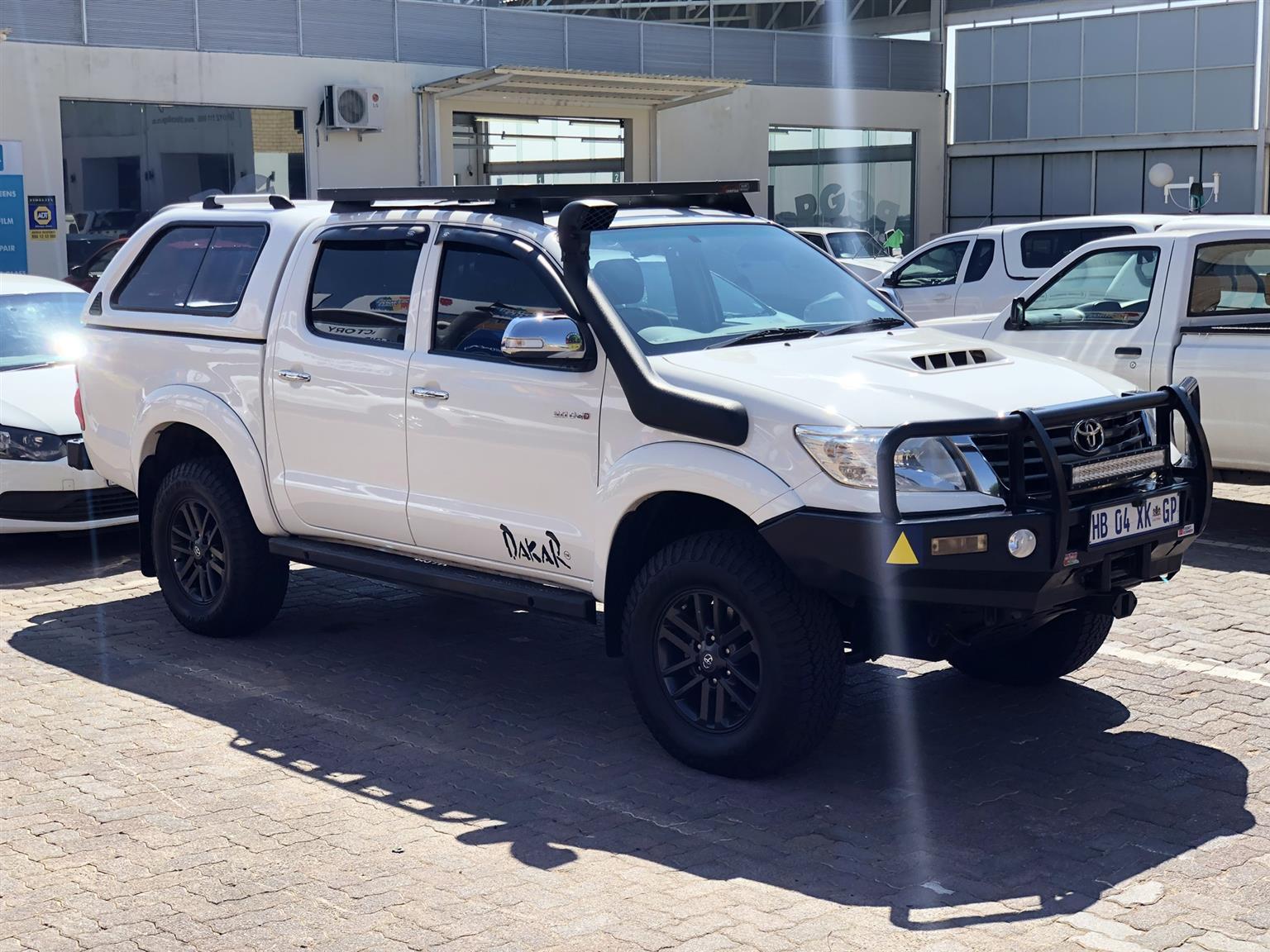 2013 Toyota Hilux double cab HILUX 3.0 D 4D RAIDER 4X4 A/T P/U D/C