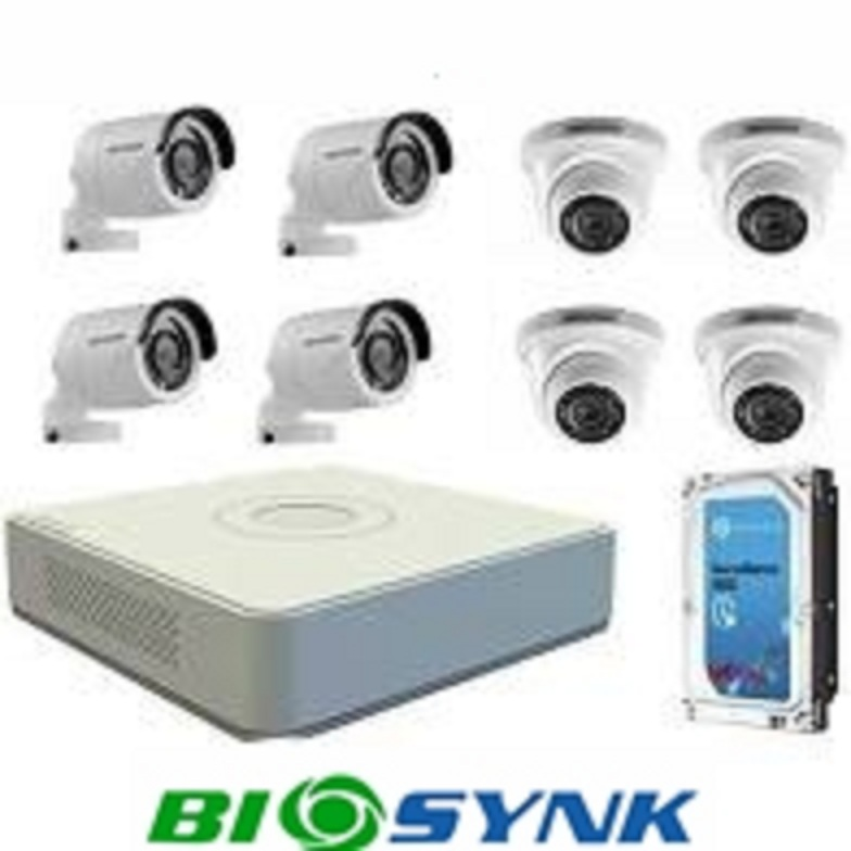 CCTV SYSTEM - HD 1MP 8 channel
