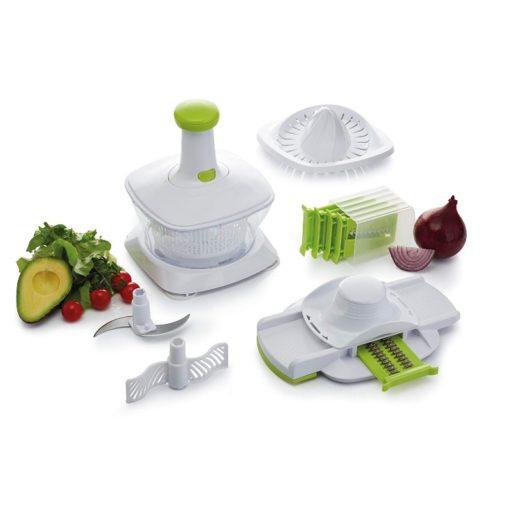 Kitchen Craft 5-in-1 Multi Use Manual Food Processor