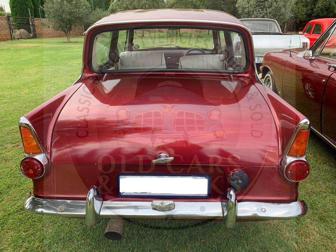 Anglia  with 1600cc Motor