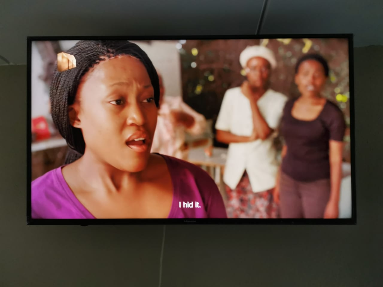 "Hisense Smart TV 50"" For Sale with Google TV Box"