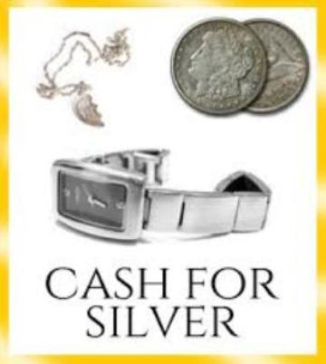 Silver Jewellery Wanted For Cash Too