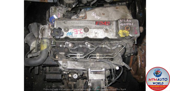 IMPORTED USED NISSAN ATLAS 4.2L FD42 ENGINE FOR SALE AT MYM AUTOWORLD