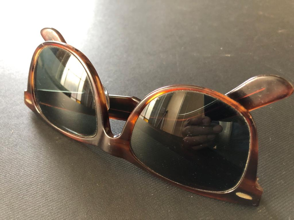 Classic Wayfarers Sunglasses by Ray Ban USA - still cool after all the years!