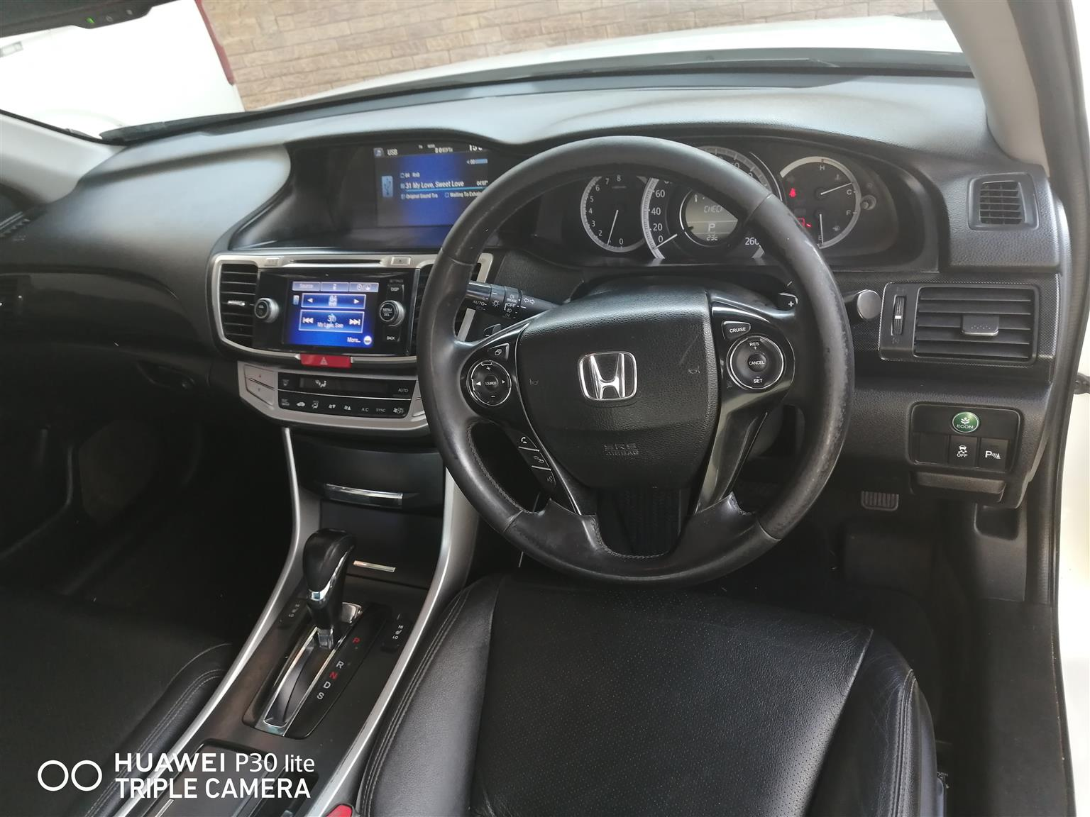 2015 Honda Accord 2.4 Executive automatic