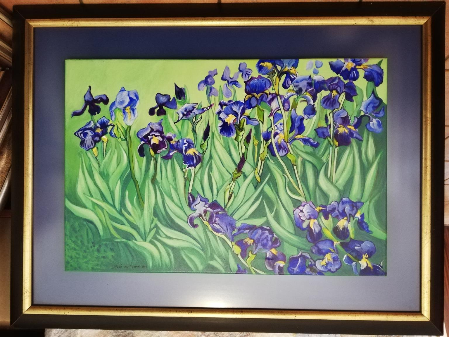 Jenni van Vuuren Original Oil Painting