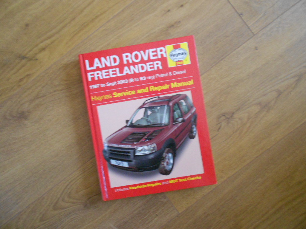 land rover freelander service manual