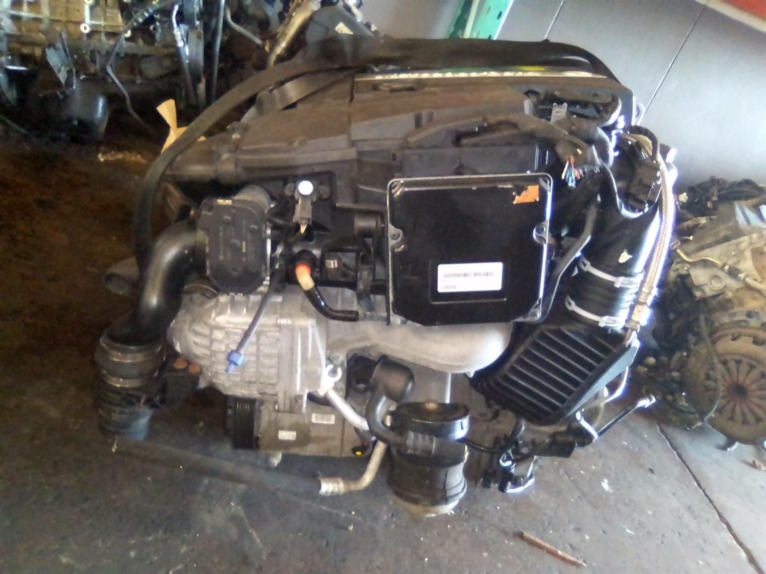 Merc Kompressor # 271 Engine
