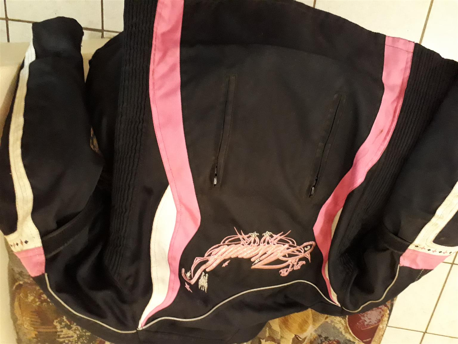 Assault ladies biker jacket for sale
