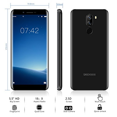 Factory VALUE Deal! DOODGEE X60L Smartphone just arrived in SA!!