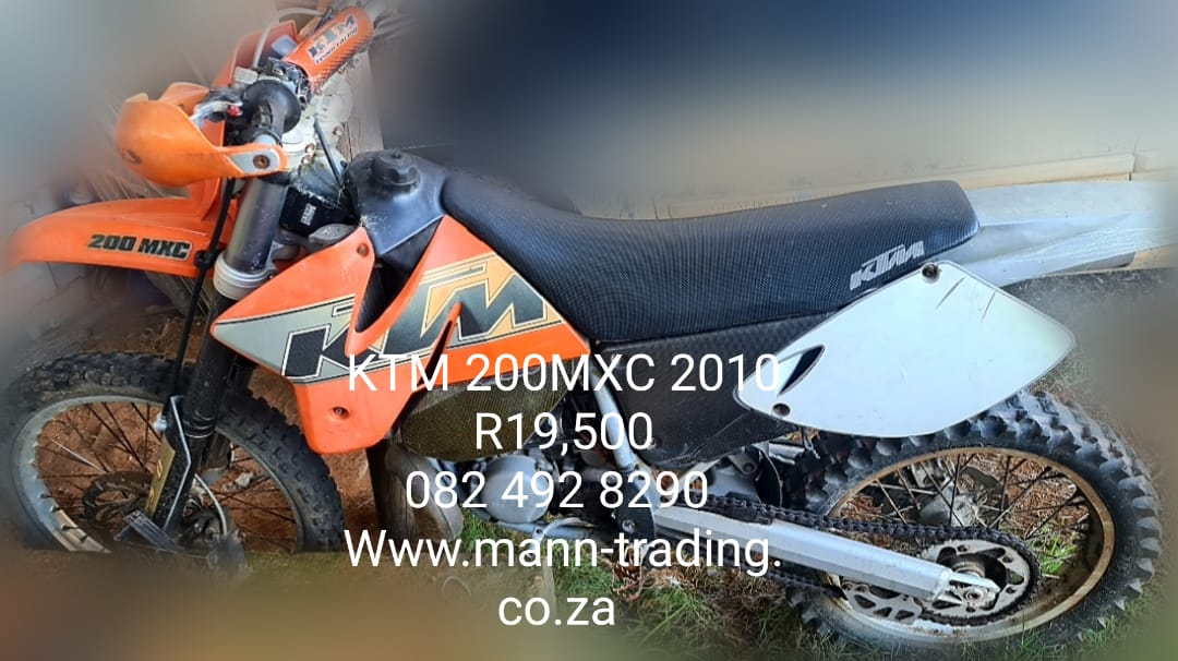 KTM 200 MXC