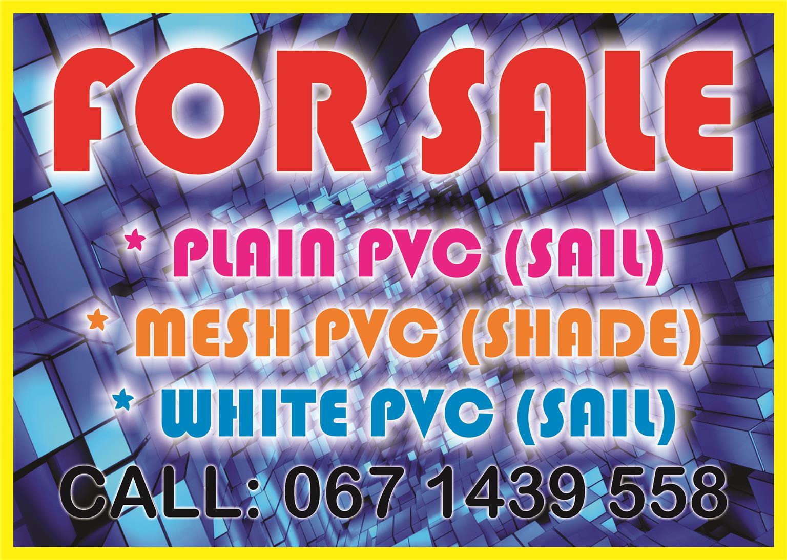 pvc for sale
