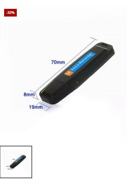 USB Voice Recorder + 16GB