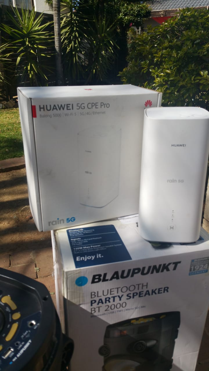 New powerful Blaupunkt bluetooth speaker party system