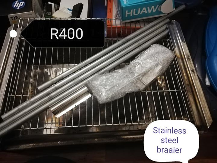 Stainless steel braaier for sale