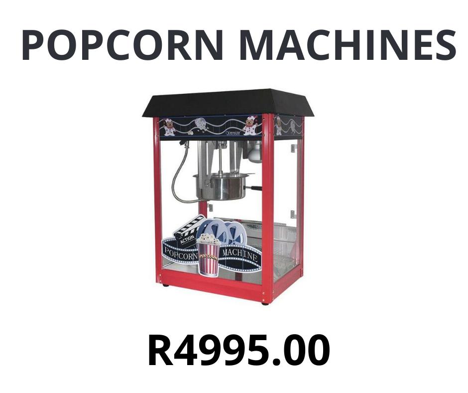 Popcorn Machine 8oz Gas