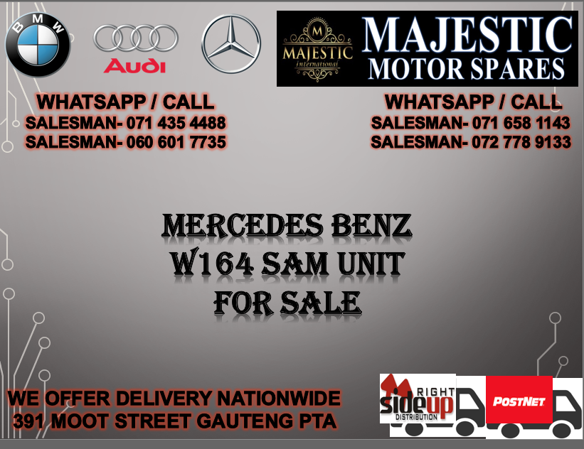 Mercedes benz W164 sam unit for sale