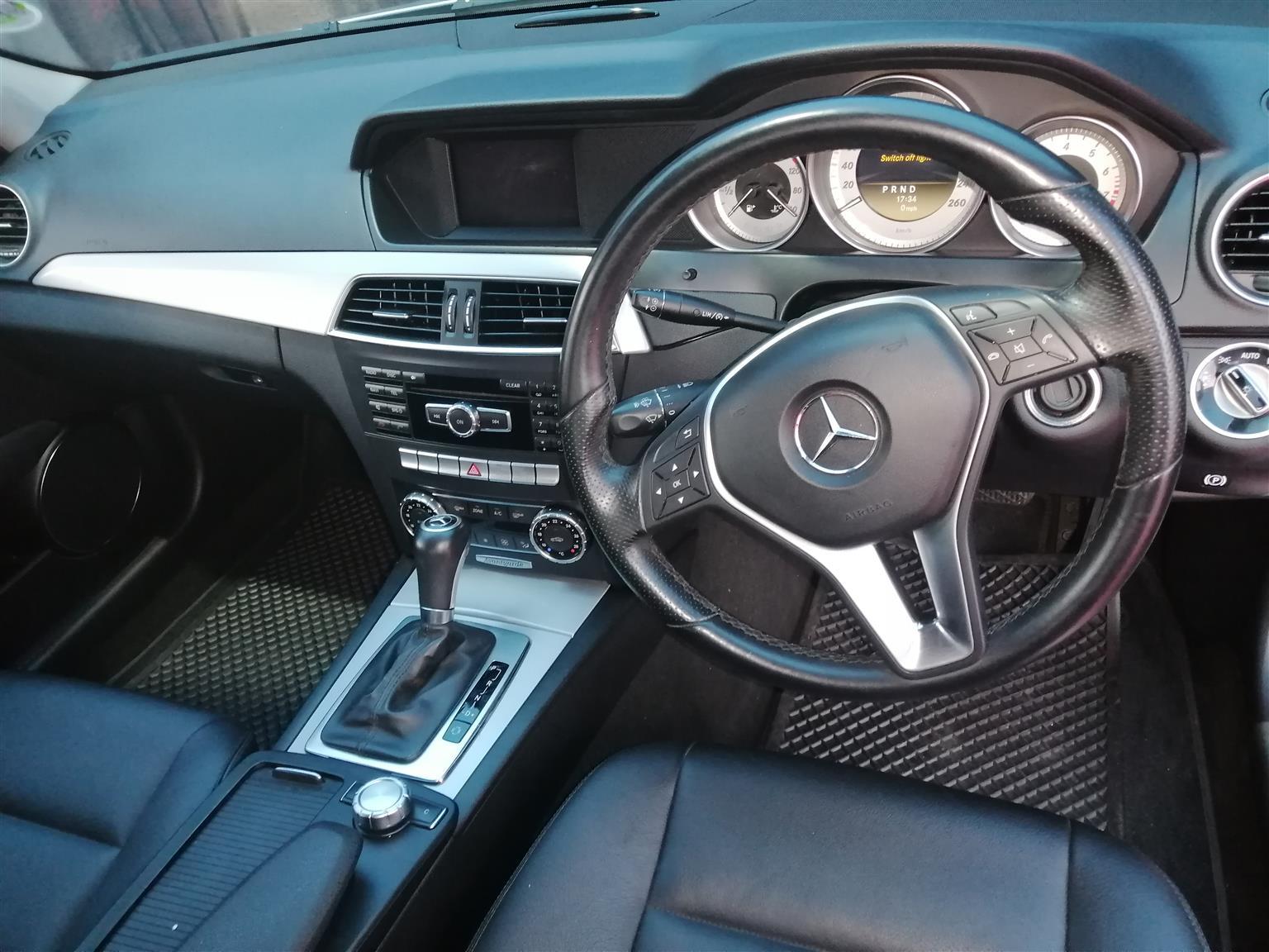 2012 Mercedes Benz C Class C180