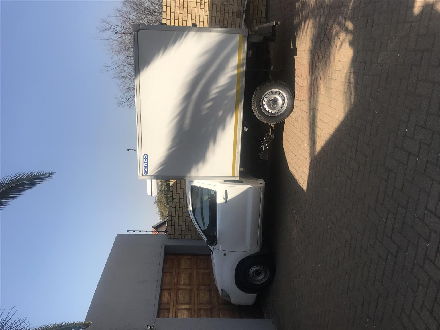 Refrigirated Bakkie hire