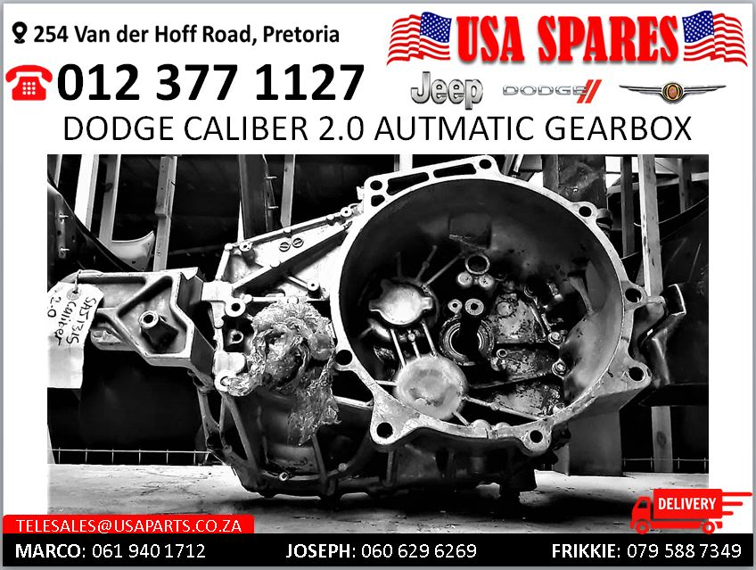 Dodge Caliber 2.0 Automatic Gearbox for sale