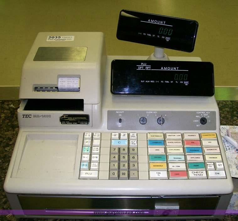 WANTED: TEC Cash Register/Till