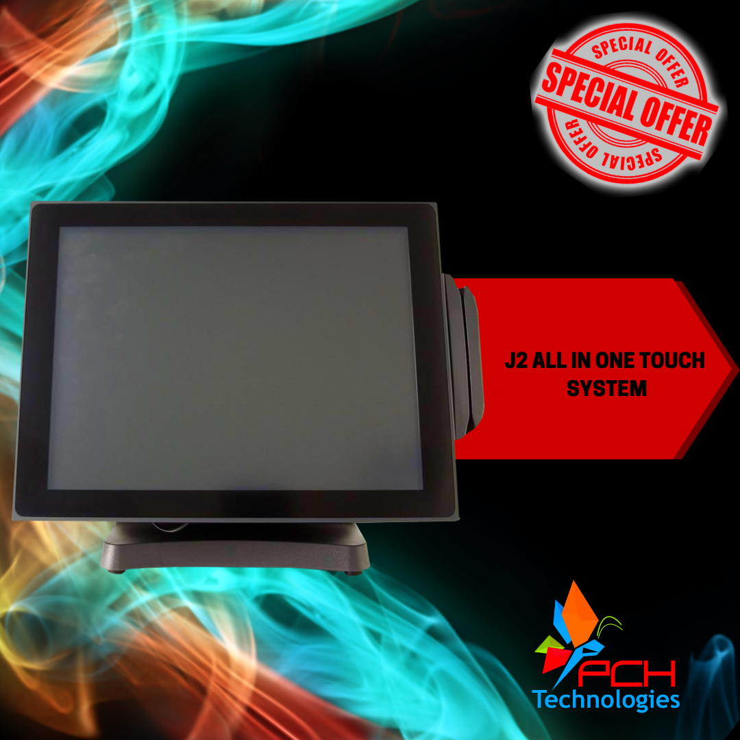 J2 All in one Touch Screen System (Refurbished) - R4200