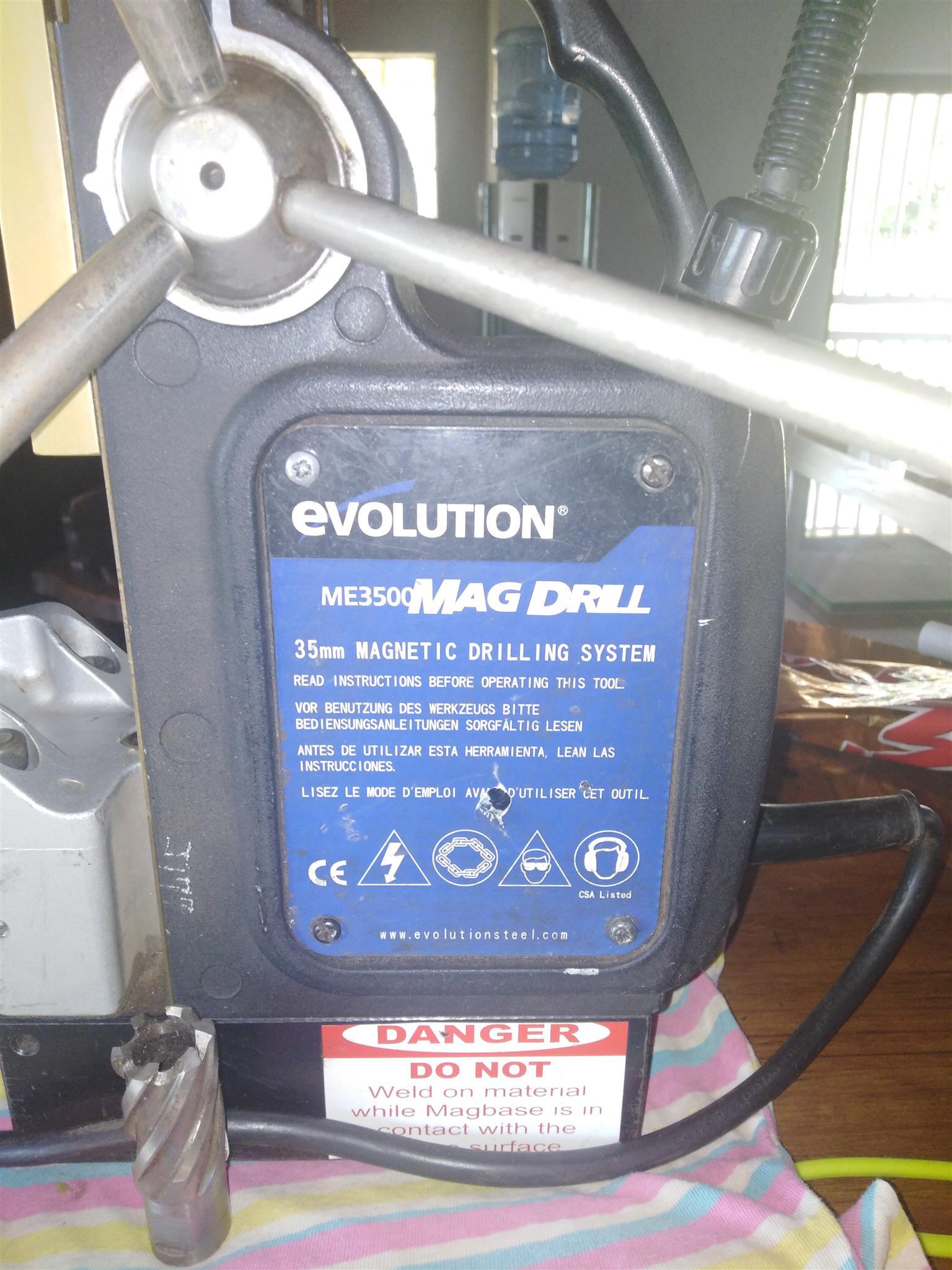 Evolution Mag Drill