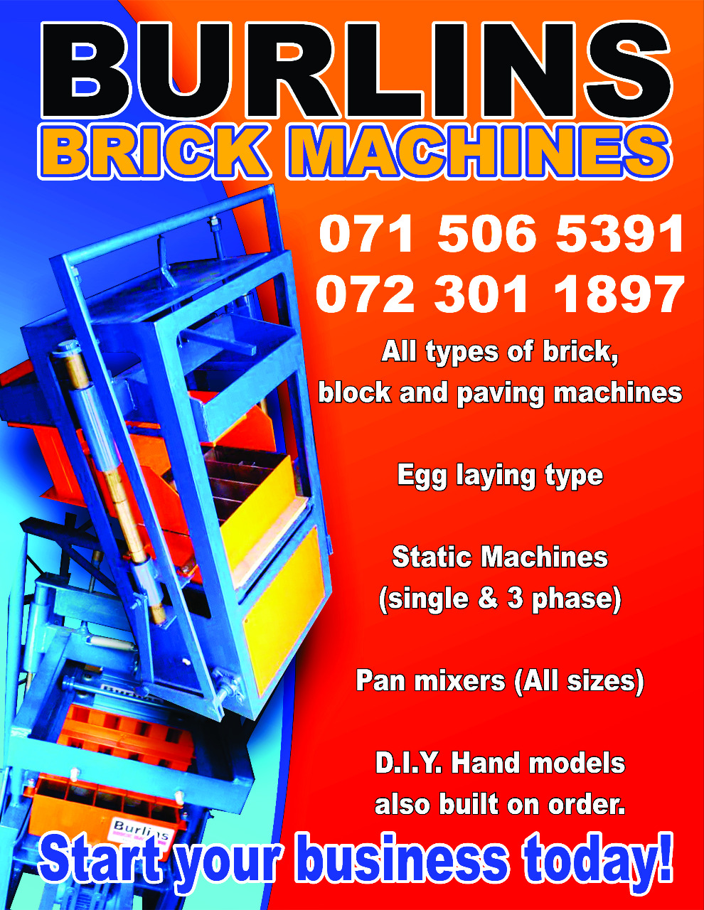 Brick machine